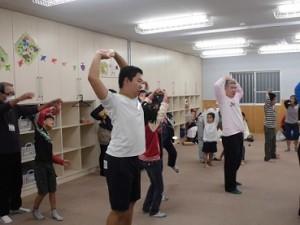 ダンス 準備運動